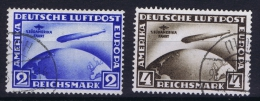 Germany: 1930 Mi Nr 438 - 439 Used - Gebruikt