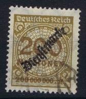 Germany: 1920 Mi Nr Service 83 Used Cancel Could Be Fake - Dienstzegels
