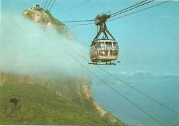 Nº350-223 RIO DE JANEIRO - RJ - PÃO DE AÇÚCAR ENTRE AS NUVENS - Rio De Janeiro