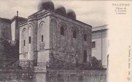 Italy Palermo Chiesa di S Cataldo L'esterno