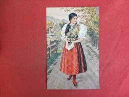 Czecho Slovak National Costumes    Ref 1438 - Customs