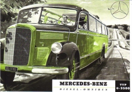Mercedes-Benz Diesel Omnibus Typ 0-3500  -  Carte Postale - Bus & Autocars