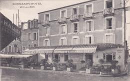 CPA (14) LUC Sur MER Le Normandy Hôtel - Luc Sur Mer