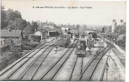 IS SUR TILLE - La Gare, Les Voies - TRAIN - Is Sur Tille