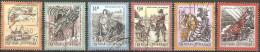 Autriche - 1997 à 2000 - Contes Et Légendes - YT 2041, 2055, 2058, 2069, 2102 Et 2147 Oblitérés - Fairy Tales, Popular Stories & Legends