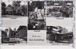 AK Bad Lippspringe - Mehrbildkarte - 1952 (7755) - Bad Lippspringe