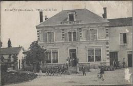 CPA - BOLOGNE - HOTEL DE LA GARE - Edition Martin (légères Traces Côté Droit  Vendu En L'état) - Autres Communes