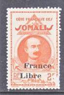 FRENCH SOMALI  COAST  216   **   FRANCE  LIBRE - French Somali Coast (1894-1967)