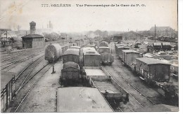 ORLEANS - Vue Panoramique De La Gare Du PO - Orleans