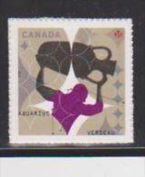 CANADA, 2013, #2459a, SIGNS OF ZODIAC:  AQUARIUS, VERSEAU  MNH - Carnets