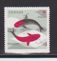 CANADA, 2013, #2460,  SIGNS OF ZODIAC: PISCES. POISSONS     MNH - Carnets