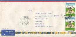 Morocco 1991 Casablanca Phosphate Minerals Mining Cover Sailor Myanmar Burma Birma Based Hong Kong - Mineralen