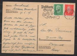 S308.-.GERMANY REICH  - CARD.-BOCHUM 17-10-29. - Deutschland