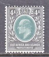 EAST AFRICA & UGANDA  PROTECTORATES  6  *  Wmk 2 CA - Kenya, Uganda & Tanganyika