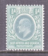 EAST AFRICA & UGANDA  PROTECTORATES  17  *  Wmk 3 Multi  CA - Kenya, Uganda & Tanganyika