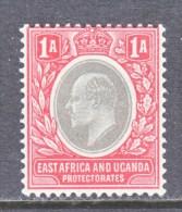 EAST AFRICA & UGANDA  PROTECTORATES  18 A  *  Wmk 3 Multi  CA - Kenya, Uganda & Tanganyika