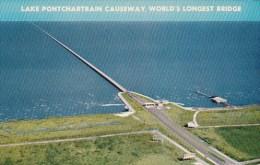 Lake Pontchartrain Causeway New Orleans Louisiana