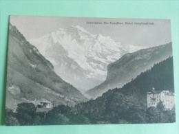 INTERLAKEN - Die JUNGFRAU - Hotel JUNGFRAUBLICK - BE Berne