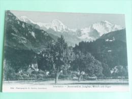 INTERLAKEN - Heimwehfluh, Jungfrau,Monch Und Elger - BE Berne