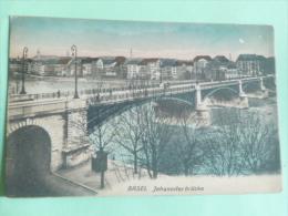 BASEL - Johanniter Brucke - BS Basle-Town