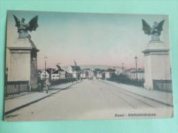 BASEL - Wettsteinbrucke - BS Basle-Town