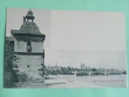 BASEL - Alter Thurm Und Rheinanscicht - BS Basle-Town
