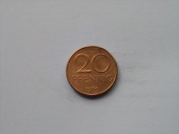 1952 A - 10 Pfennig / KM 7 ( Uncleaned Coin / For Grade, Please See Photo ) !! - [ 6] 1949-1990 : RDA - Rep. Dem. Alemana