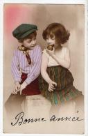 ENFANTS . CROQUONS LA POMME . BONNE ANNÉE - Réf. N°2269 - - Portraits