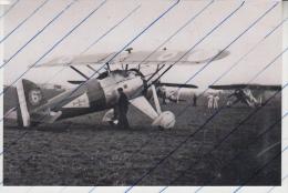 Foto photo Flugzeug franz�sische Armee de l�Air Morane-Saulnier MS225  avion aeroplane aircraft