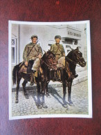 Nr. 33 1920 Kosaken Soldau Krieg Russland Polen Oberst Blaupunkt Zigarettenbild Bild Zigarette - Cigarettes