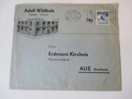 Schweiz Zensurbeleg Oberkommando Der Wehrmacht 1941. Adolf Wildbolz Luzern. - Briefe U. Dokumente