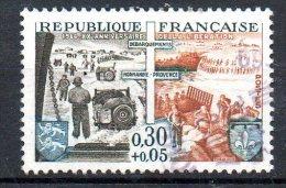 FRANCE. N°1409 Oblitéré De 1964. Débarquement. - WO2