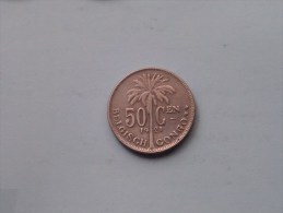 1921 - 50 Centiemen / KM 23 ( Uncleaned Coin / For Grade, Please See Photo ) !! - Congo (Belgian) & Ruanda-Urundi