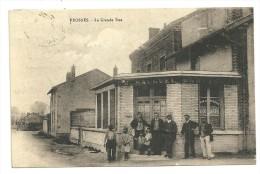 PROSNES Dptr51 La Grande Rue Bar Tabac Hauguel De 1933 (entre Reims Et Châlons) - France