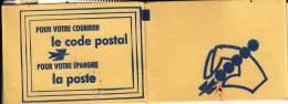 Carnet Clos De 8 Vignettes Pour Appprendre Le Code Postal - Instructional Courses