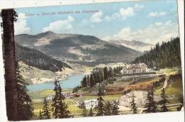- Basler Deutsche Hellstatte Am Davosersee - Stamped 1912 TTBE - GR Grisons