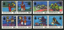 ~~~ Dominica 1969 - Tourism - Mi. 245/252 ** MNH  ~~~ - Dominica (1978-...)