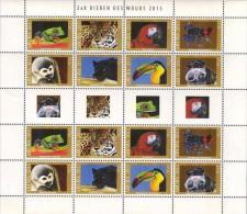 Aruba 2013 Wild Life Frog Monkey Jaguar Parrot Minisheet Of 2 Sets MNH - Timbres