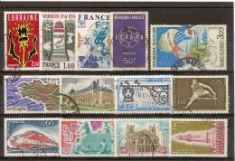 FRANCE - LOT DE TIMBRES OBLITERES DIFFERENTS - France