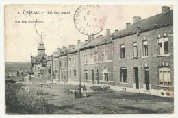 Belgique AUVELAIS Province De Namur RUE DES AUGES Ed Dave Migeot N°8 De 1911 - Belgique