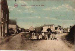 LIEGE     1 CP    Awans  Place De La Ville 1920 - Awans