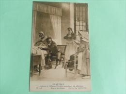 CHARTRAN - Laennec à L'Hopital NECKER Auscultant Un Phtisique Devant Ses élèves - Salute