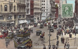 FIFTH AVENUE NORTH FROM 42ND STREET NEW YORK CITY / VOITURES ANCIENNES - New York City