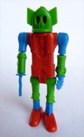 RARE FIGURINE KINDER ROBOT 01 MONTABLE 1970�s