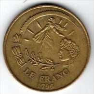 Le Franc 1796 - L'Euro 2002 Par Monnaie De Paris - Euros Of The Cities