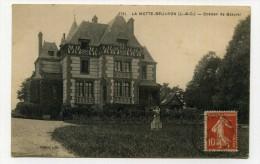 CP , 41 , LAMOTTE-BEUVRON , Château De Beauval - Lamotte Beuvron