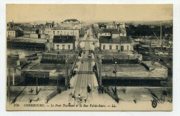 CP , 50 , CHERBOURG , Le Pont Tournant - Cherbourg