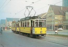 ALLEMAGNE ULM : TRAMWAY En 1962 - Détails  2ème Scan - Tramways