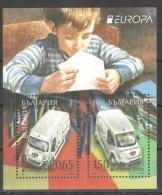 45-454 // BG -2013  EUROPA-POSTAUTOS BLOCK - Blocs-feuillets