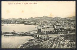 Säo Vicente. *Deposito De Carväo* Ed. Bazar Central Bonucci & Frusoni. Nueva. Leves Manchas. - Cabo Verde